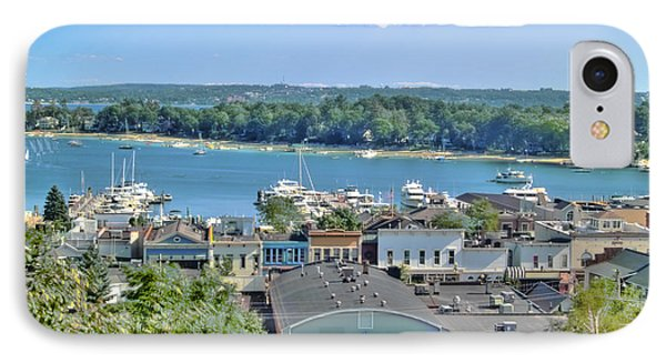Harbor Springs Michigan Phone Case by Bill Gallagher