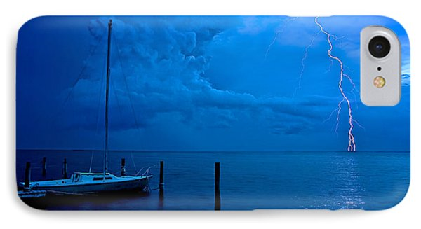 Harbor Storm Phone Case by Mark Miller