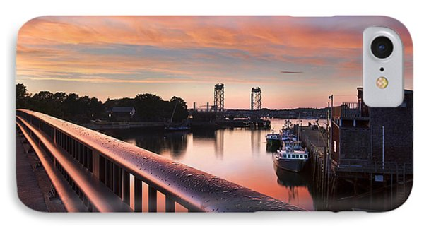 Harbor Sunset IPhone Case by Eric Gendron
