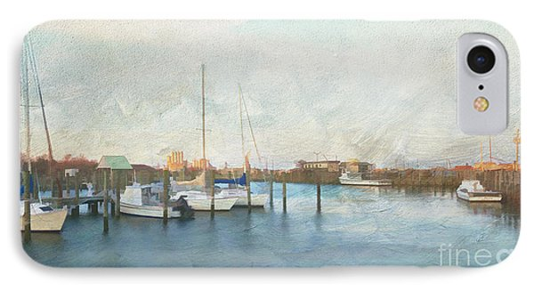Harbor Morning IPhone Case by Terry Rowe