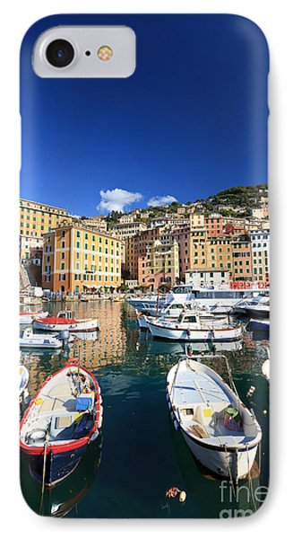 IPhone Case featuring the photograph Harbor With Fishing Boats by Antonio Scarpi