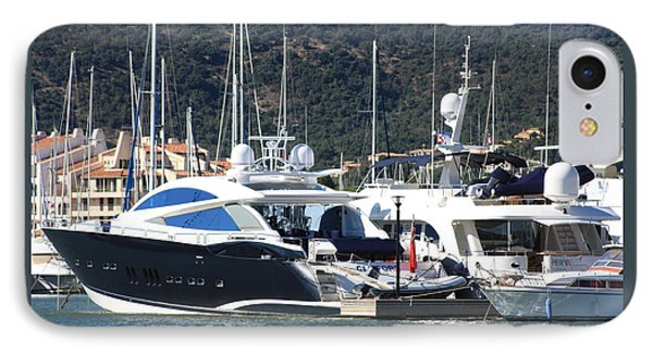 IPhone Case featuring the photograph Harbour Docking Scene by Rogerio Mariani