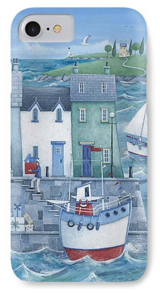 Harbour Gifts IPhone Case by Peter Adderley