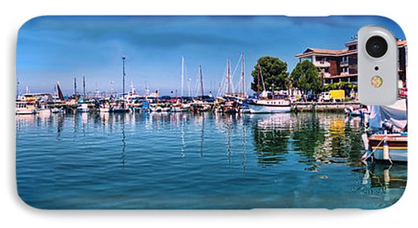 Harbour Life Izola IPhone Case by Graham Hawcroft pixsellpix