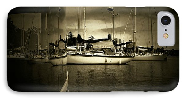 IPhone Case featuring the photograph Harbour Life by Micki Findlay