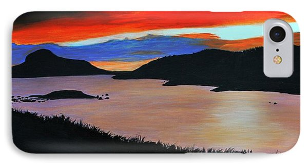 Harbour Sunset Phone Case by Barbara Griffin