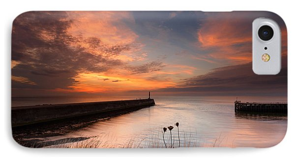Harbour Sunset IPhone Case by Izzy Standbridge