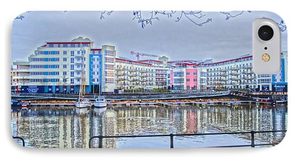 Harbourside Flats Phone Case by Brian Roscorla
