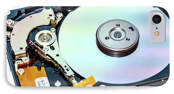 Hard Disc Drive (hhd) IPhone Case by Wladimir Bulgar
