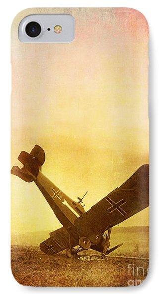 Hard Landing Phone Case by Edward Fielding