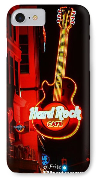 Hard Rock Cafe' IPhone Case by Al Fritz