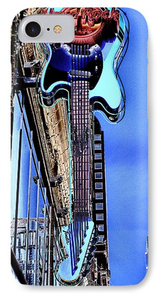 Hard Rock Cafe Seattle Phone Case by David Patterson