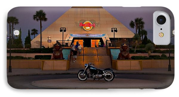 IPhone Case featuring the photograph Hard Rock Myrtle Beach by Bob Pardue