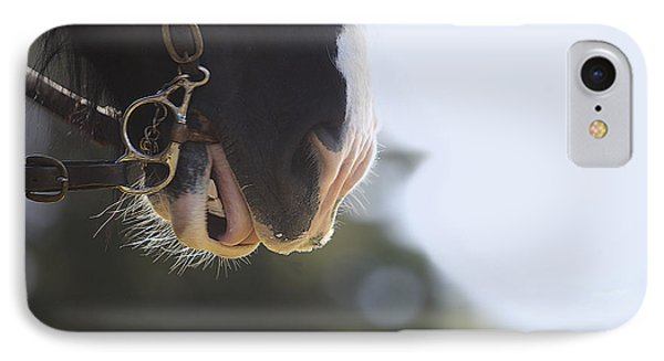 Hard Work Plowing IPhone Case by Rich Collins