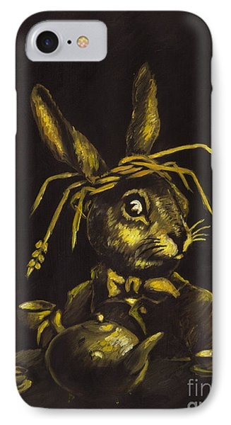 Hare Phone Case by Suzette Broad