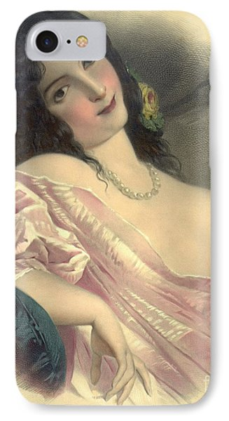 Harem Girl 1850 IPhone Case by Padre Art