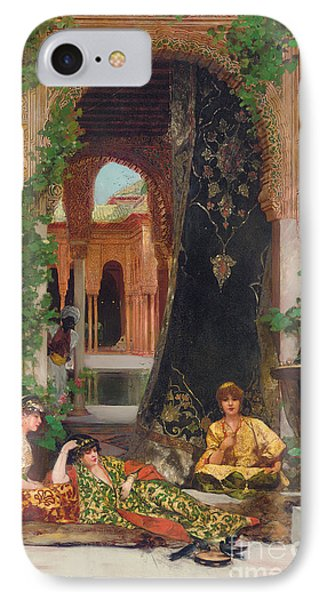 Harem Women IPhone Case by Jean Joseph Benjamin Constant