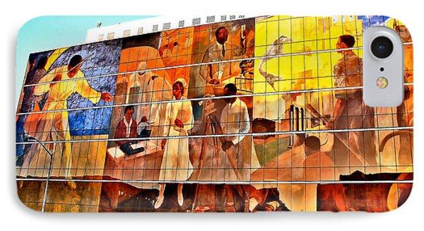Harlem Hospital Mural IPhone Case