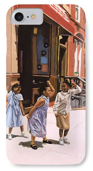 Harlem iPhone 7 Case - Harlem Jig by Colin Bootman