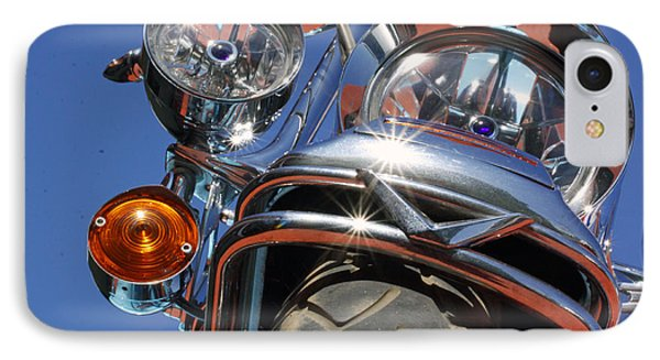 IPhone Case featuring the photograph Harley Close Up by Shoal Hollingsworth