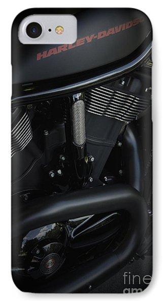 Harley Davidson Black Phone Case by Vineesh Edakkara