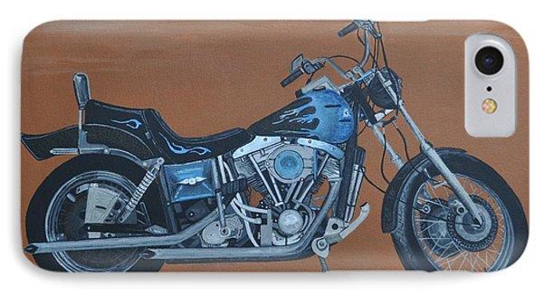 Harley Davidson Dyna Phone Case by Sally Rice
