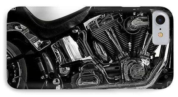 Harley Davidson  Military  IPhone Case by Bob Orsillo