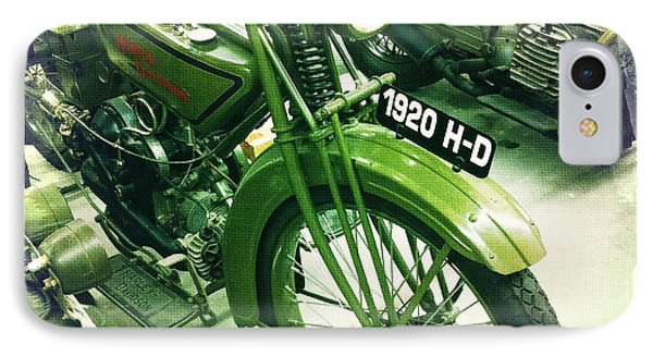 Harley Davidson Phone Case by Nina Prommer