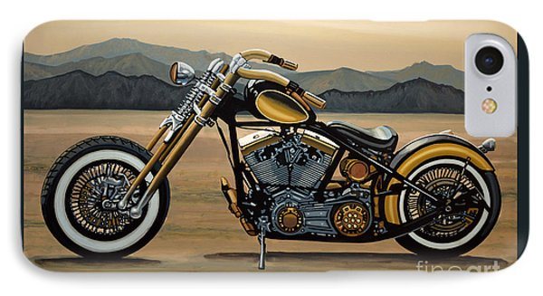 Harley Davidson IPhone Case by Paul Meijering