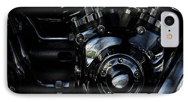 Harley Davidson V Twin 2 IPhone Case by Jack Zulli