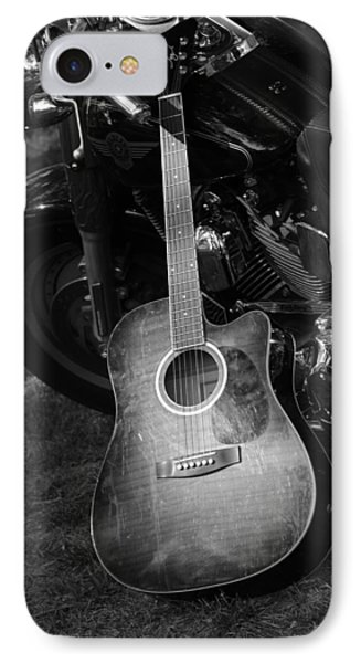 IPhone Case featuring the photograph Harley's Music by Karen Kersey