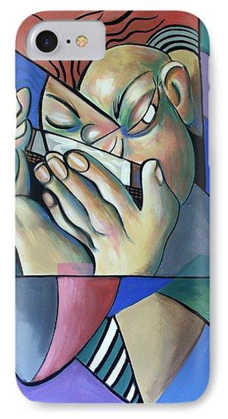 Harmonia Man IPhone Case by Anthony Falbo