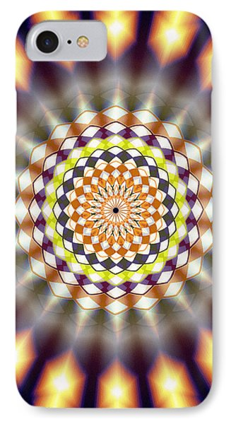 IPhone Case featuring the drawing Harmonic Sphere Of Energy by Derek Gedney