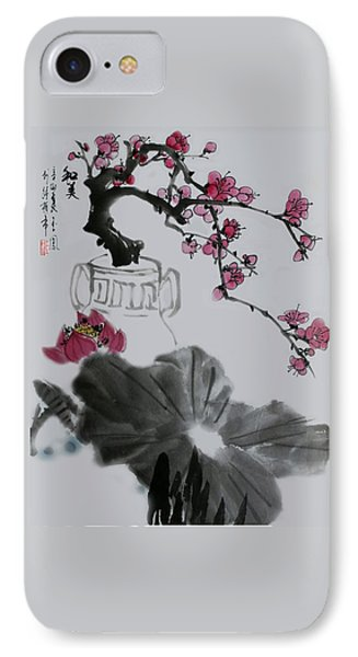 IPhone Case featuring the photograph Harmony And Beauty by Yufeng Wang