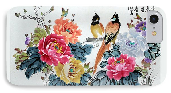 Harmony And Lasting Spring IPhone Case by Yufeng Wang