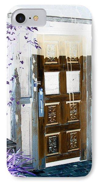 Harmony Doorway IPhone Case by Dana Patterson