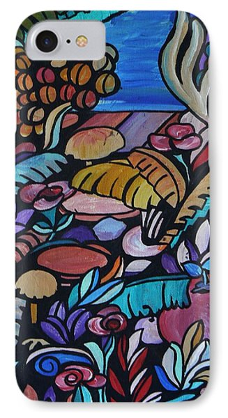 Harmony Garden IPhone Case by Barbara St Jean