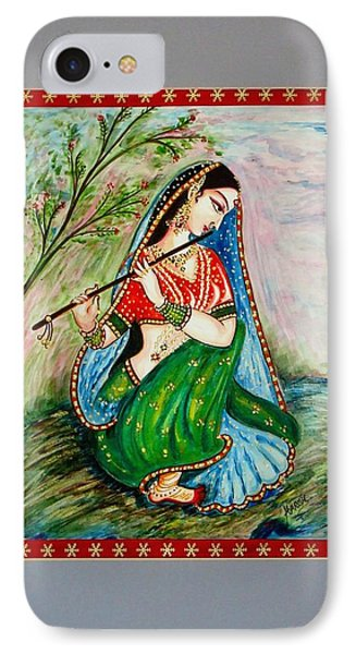 IPhone Case featuring the painting Harmony by Harsh Malik