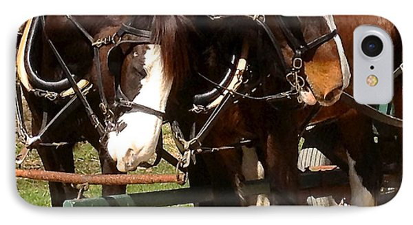 Harness Partners IPhone Case by Jeff Gater