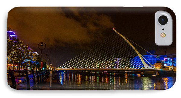 Harp Bridge Dublin IPhone Case by Rob Hemphill