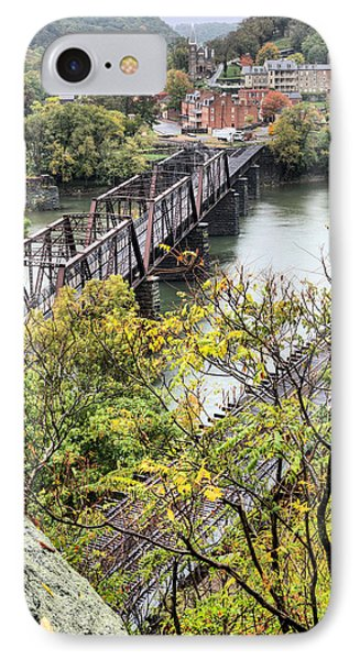 Harpers Ferry IPhone Case by JC Findley