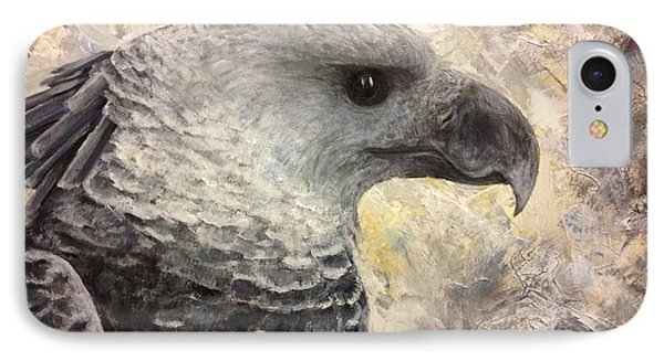 Harpy Eagle Study In Acrylic IPhone Case by K Simmons Luna