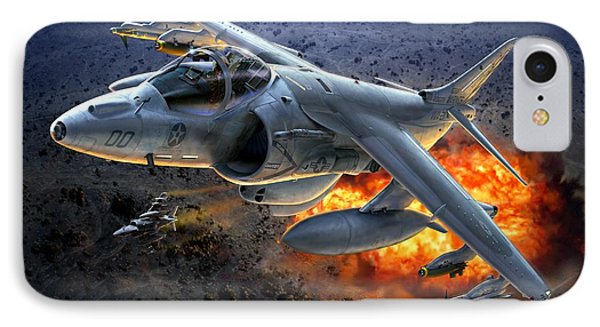 Harrier By Night IPhone Case