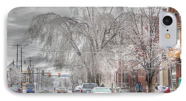 Harrisburg On Ice Phone Case by Lori Deiter