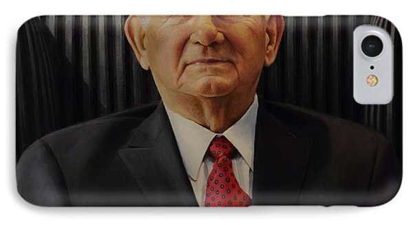 IPhone Case featuring the painting Harry Leggett by Glenn Beasley