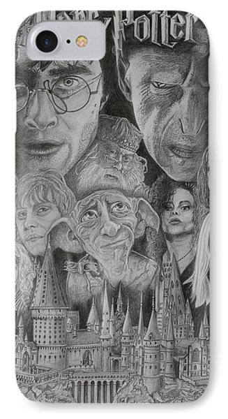 Harry Potter Montage IPhone Case by Mark Harris