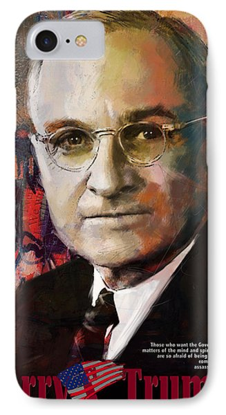 Harry S. Truman Phone Case by Corporate Art Task Force