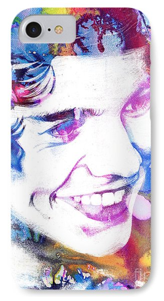 Harry Styles - One Direction IPhone Case by Doc Braham