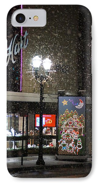 Hart In The Snow - Grants Pass Phone Case by Mick Anderson