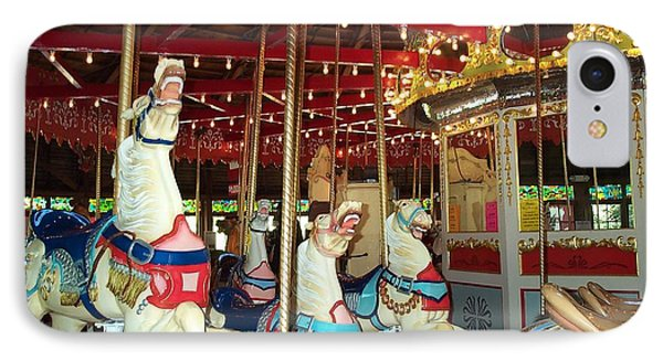 IPhone Case featuring the photograph Hartford Carousel by Barbara McDevitt